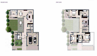 Planning of the apartment Villas, 3040 in Al Zahia, Sharjah