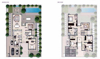Planning of the apartment Villas, 4584 in Al Zahia, Sharjah