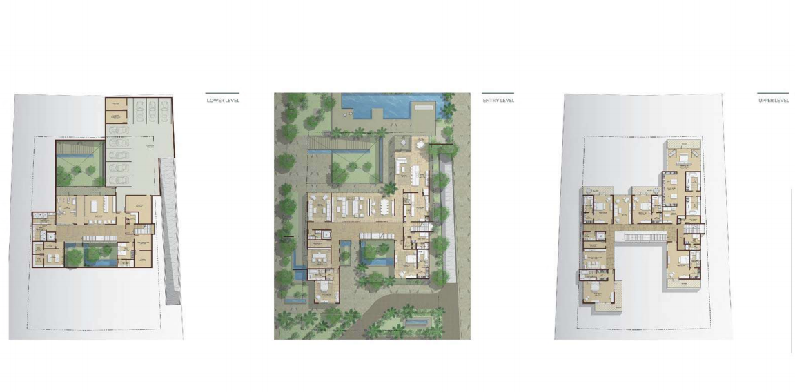 Planning of the apartment Villas, 22432 in Dubai Hills Grove and Views, Dubai