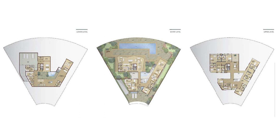 Planning of the apartment Villas, 30649 in Dubai Hills Grove and Views, Dubai