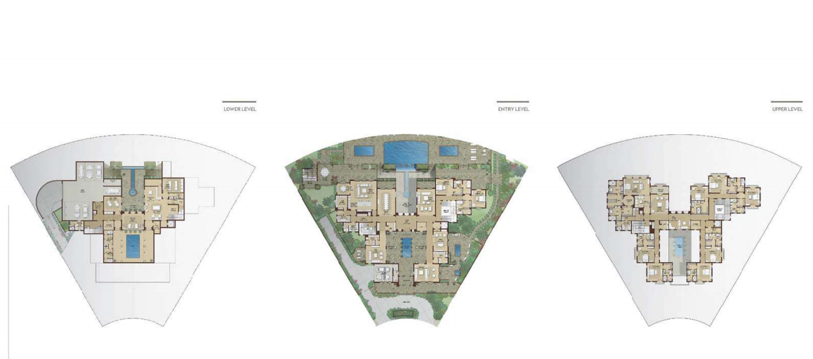 Planning of the apartment Villas, 28428 in Dubai Hills Grove and Views, Dubai