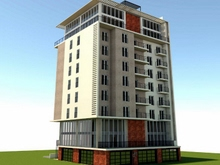 Новый дом на улице Чиковани