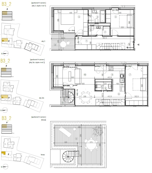 4 camere, 307 000 € +TVA, 176.9 m², Urban Spaces 5