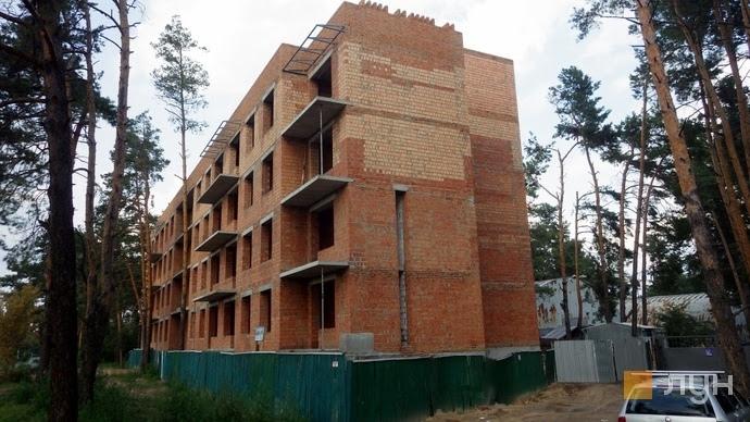 Ход строительства ЖК Finland Yard, Дом, август 2018