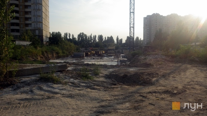 Ход строительства ЖК Эврика, 2 дом, август 2018