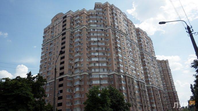 Хід будівництваЖК Голосіїво, Будинок 1, липень 2014