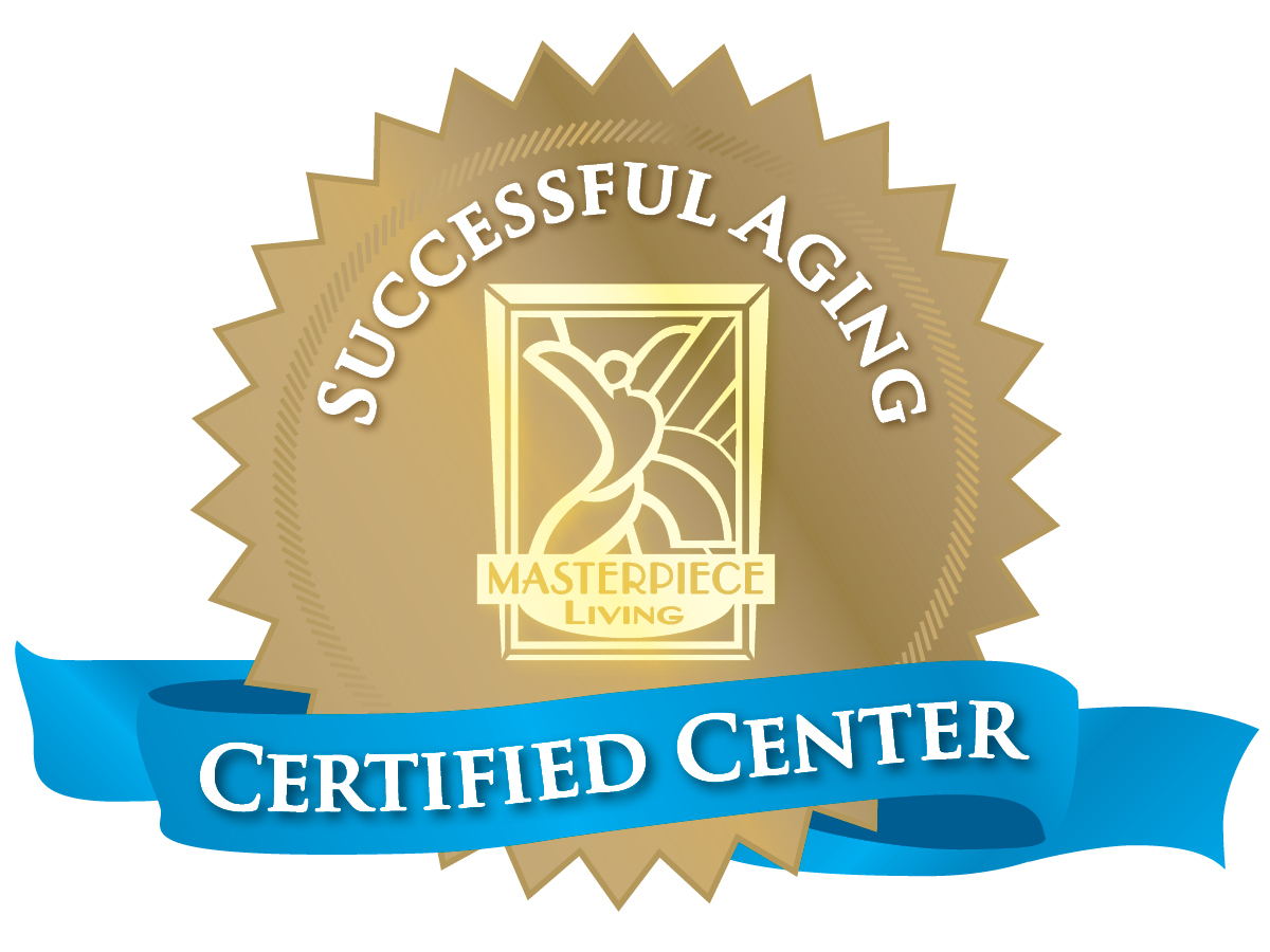 Certified Center for Successful Aging ribbon