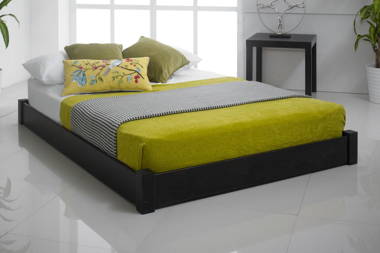 Studio Low Wooden Bed Frame Bedworld