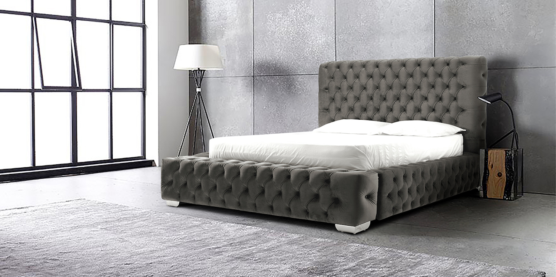 Picture of: Ambassador Chesterfield Upholstered Bed Frame Bedworld