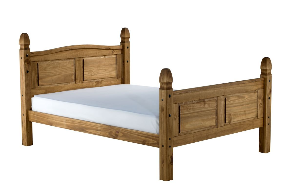 Picture of: Birlea Corona High End Pine Wooden Bed Frame Bedworld