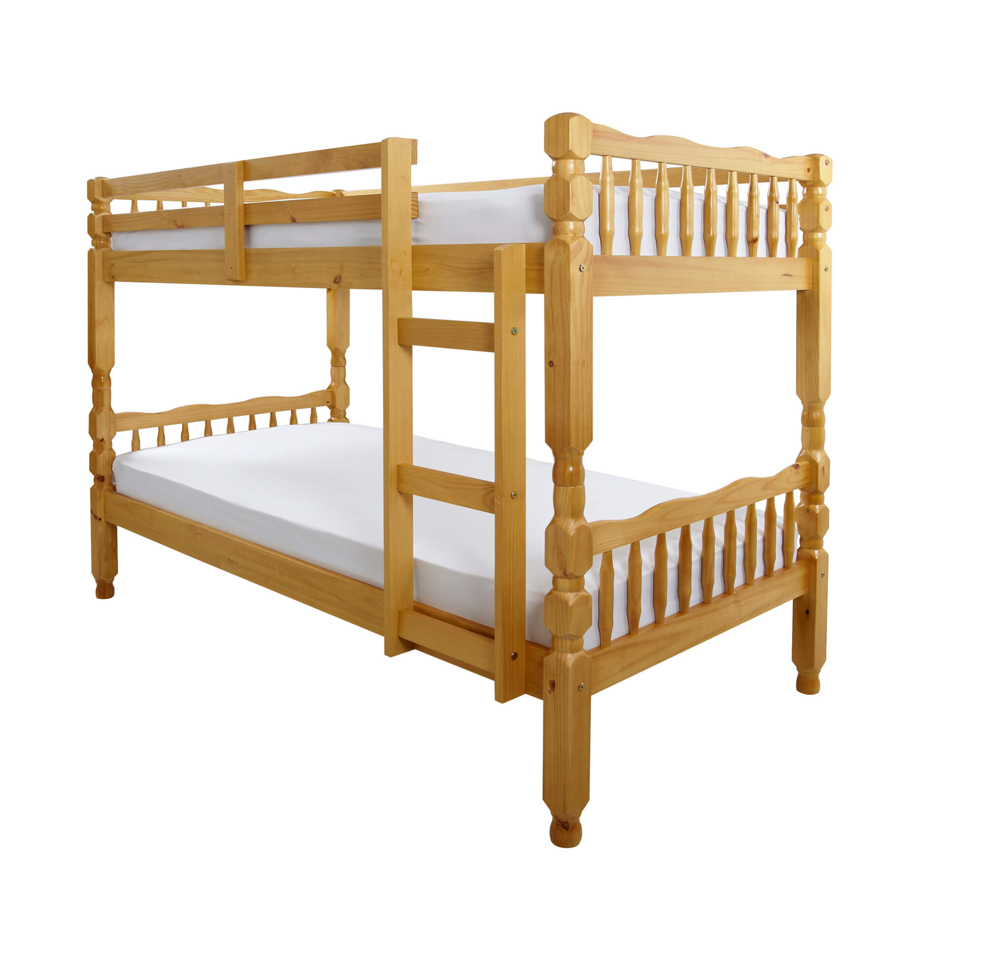 Picture of: Melissa Pine Wooden Bunk Bed Bedworld