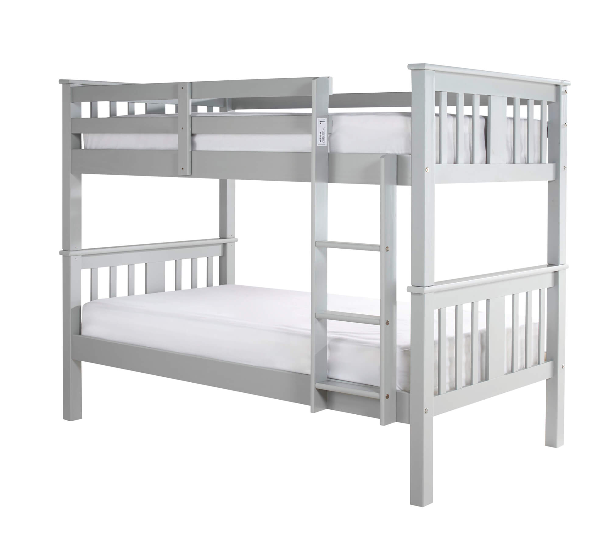Picture of: Navaro Grey Wooden Bunk Bed Aaa Beds