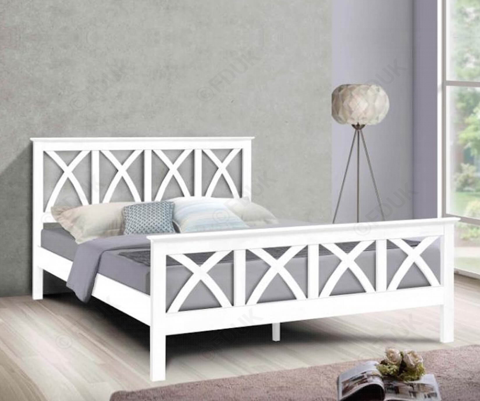 Wellington White Wooden Bed Frame Aaa Beds