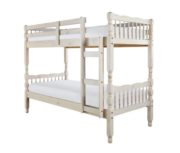 Melisa White wash bunk beds