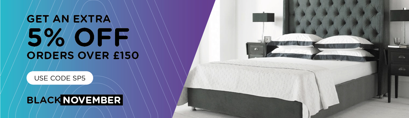 AAA Beds - Black Friday banner image
