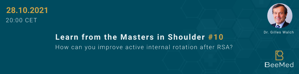 How Can you Improve Active Internal Rotation After RSA?