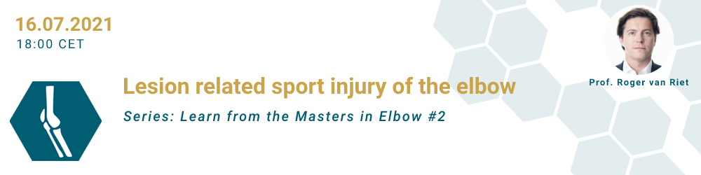 Lesion related sport injury of the elbow