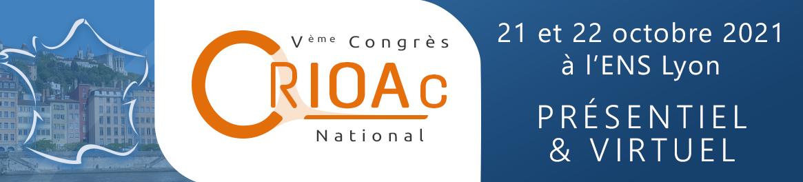 5ème Congrès National des CRIOAc