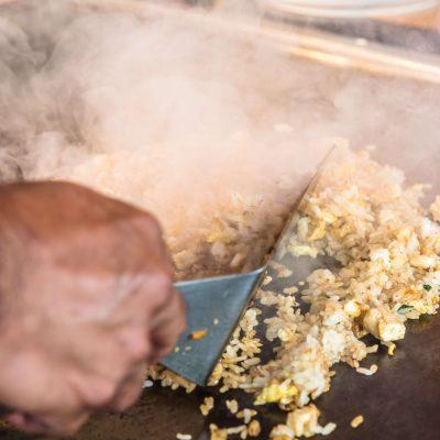 Sizzling Hibachi Fried Rice