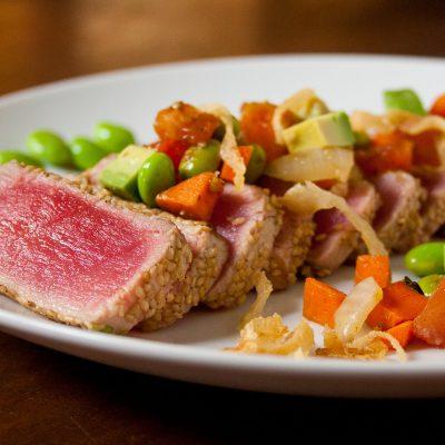 Hibachi Tuna Steak