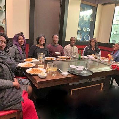 Annual family dinner