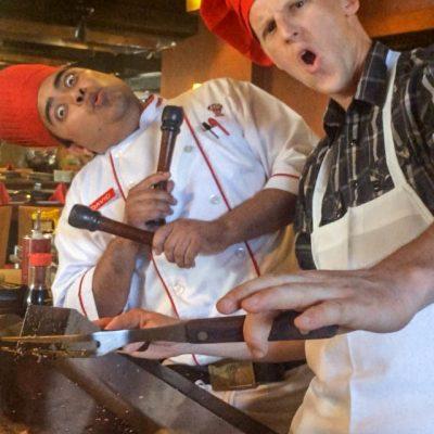 Chefs Having Fun