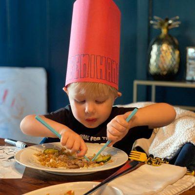 Tiny Benihana Chefs Juno J. R.