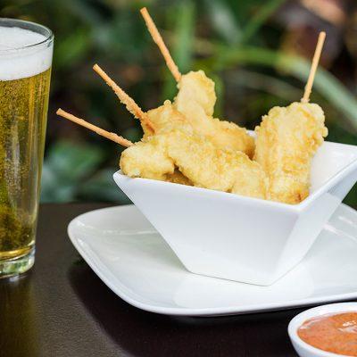 Chicken Tempura & Beer