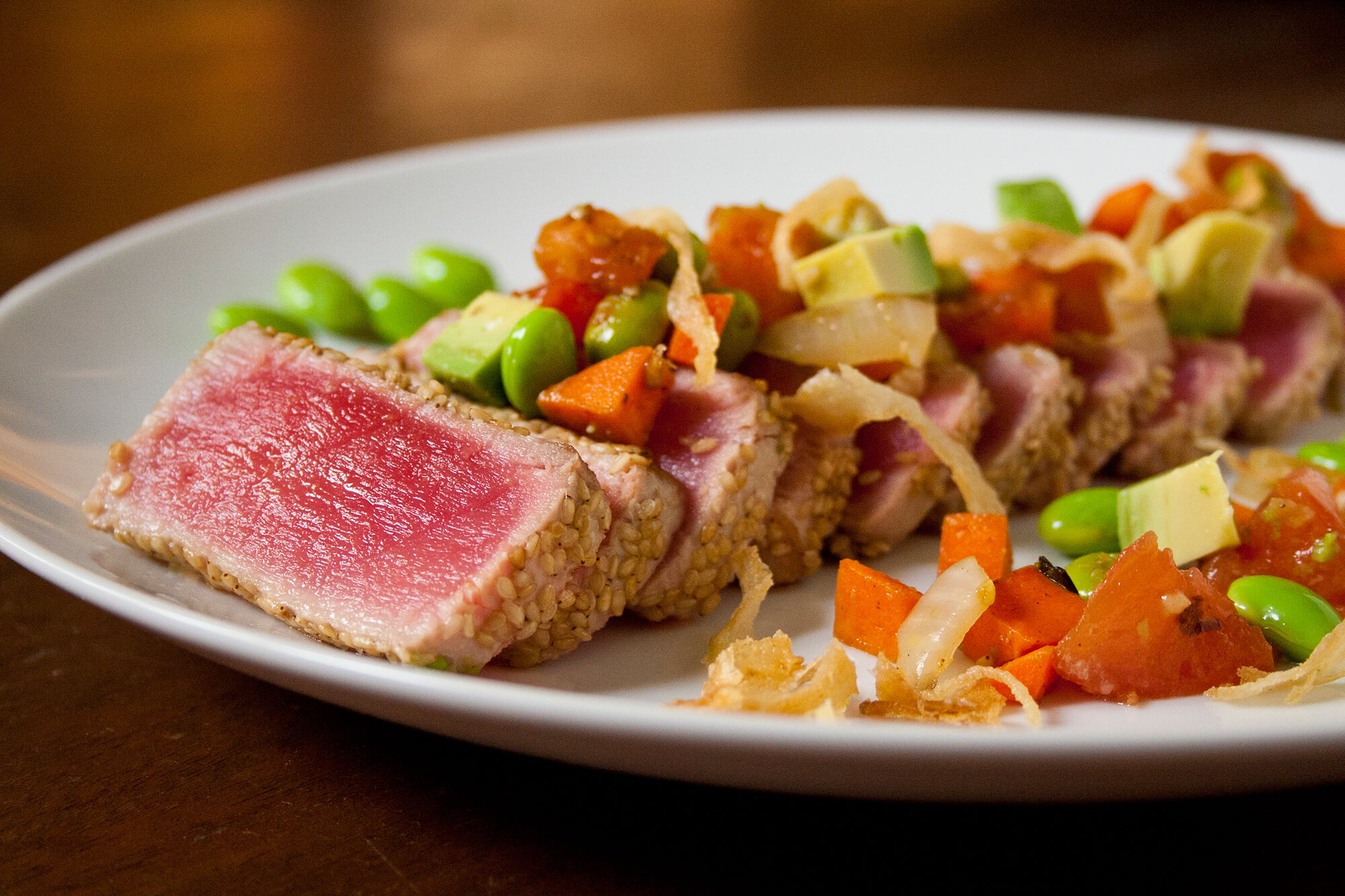 Hibachi Tuna Steak