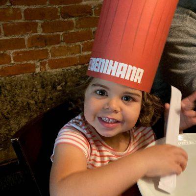 Benihana Fan little girl