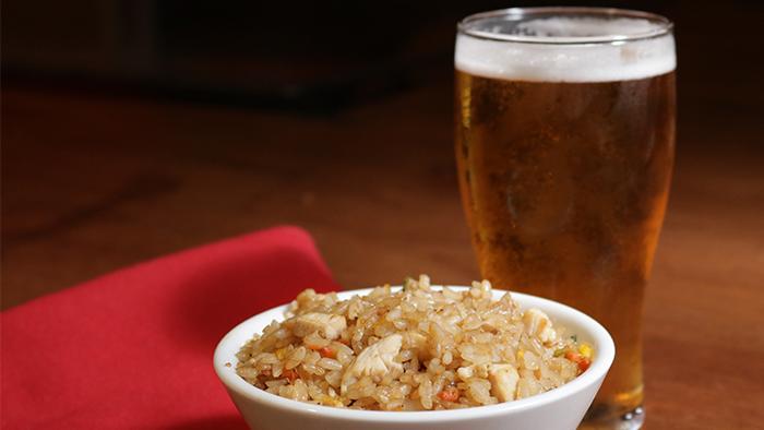 Hibachi Fried Rice & Beer