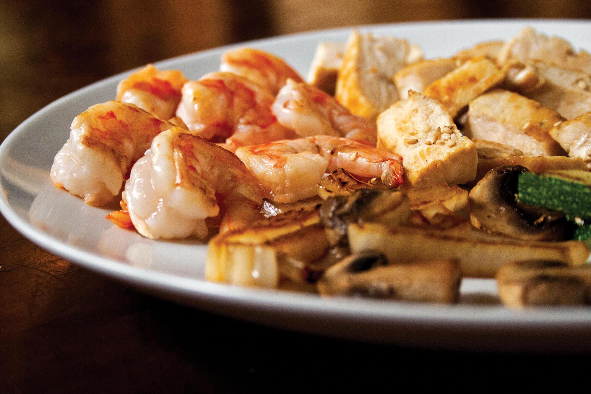 Family Meal-Shrimp & Chicken Family Meal-Shrimp-Chicken Benihana Family style meals