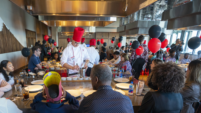 Benihana hosting a special lunch for Big Brothers Big Sisters