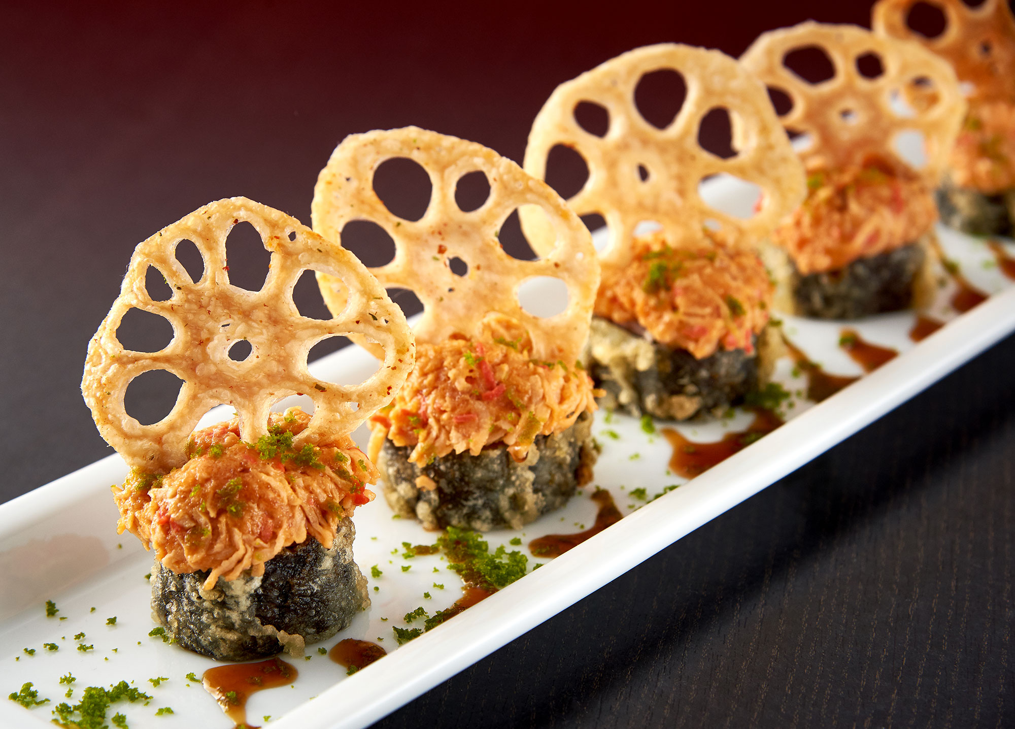 SPICY LOTUS ROLL
