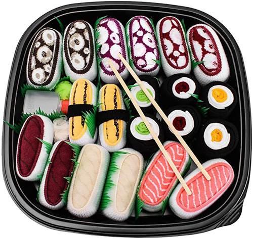 Calzini Sushi Mix Di Nigiri E Maki 10 Paia