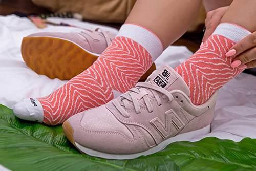 Rainbow Socks 2 Paia Calzini Sushi Maki Salmone E Cetriolo 3