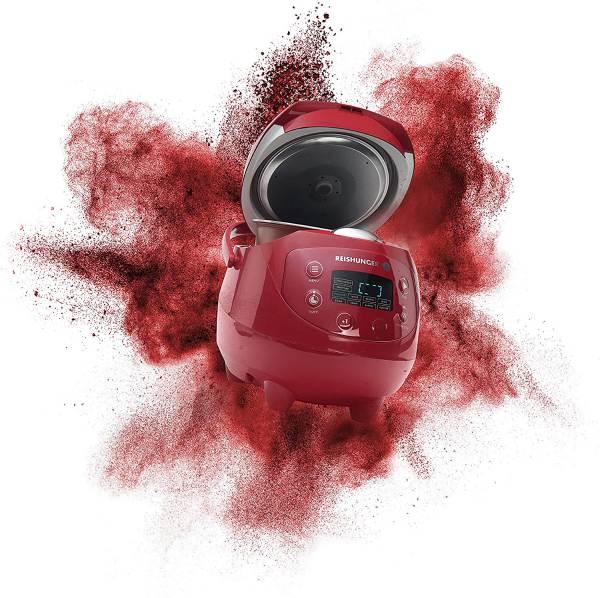 Cuociriso Mini Digitale Reishunger Rosso