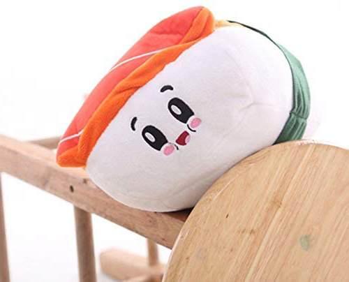 Cuscino onigiri sushi al salmone