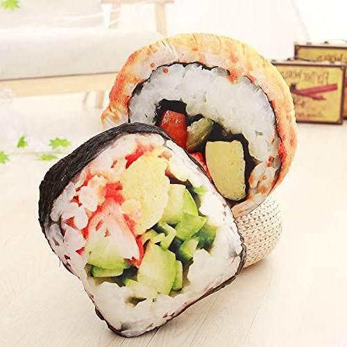 Cuscino Sushi Stampa 3d