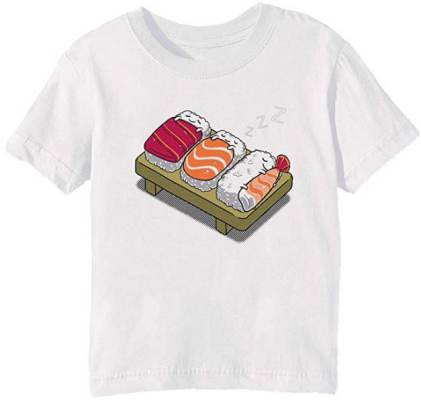 Tshirt Maglietta Sushi Erido Dormire Fino A Tardi