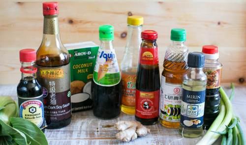 Mirin, salse e condimenti per cucina giapponese