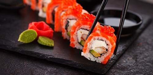 Piatto in Ardesia per Sushi