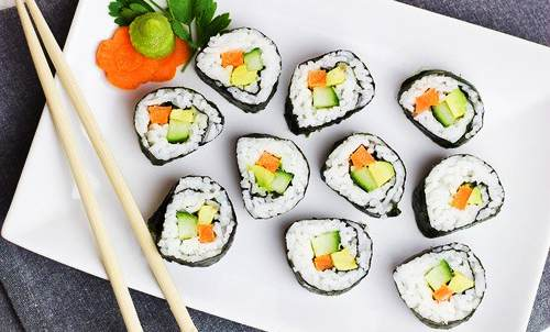Sushi - Benefici per la salute