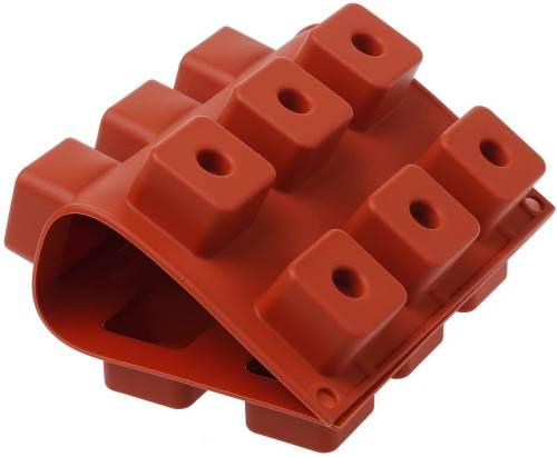 Stampo Per Sushi Maki In Silicone Rosso Mattone