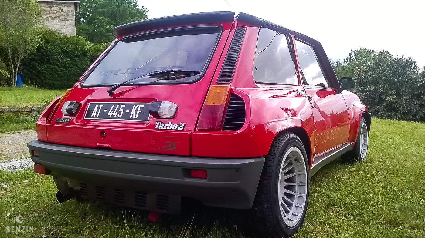 Renault 5 Turbo 2 préparée 260 ch