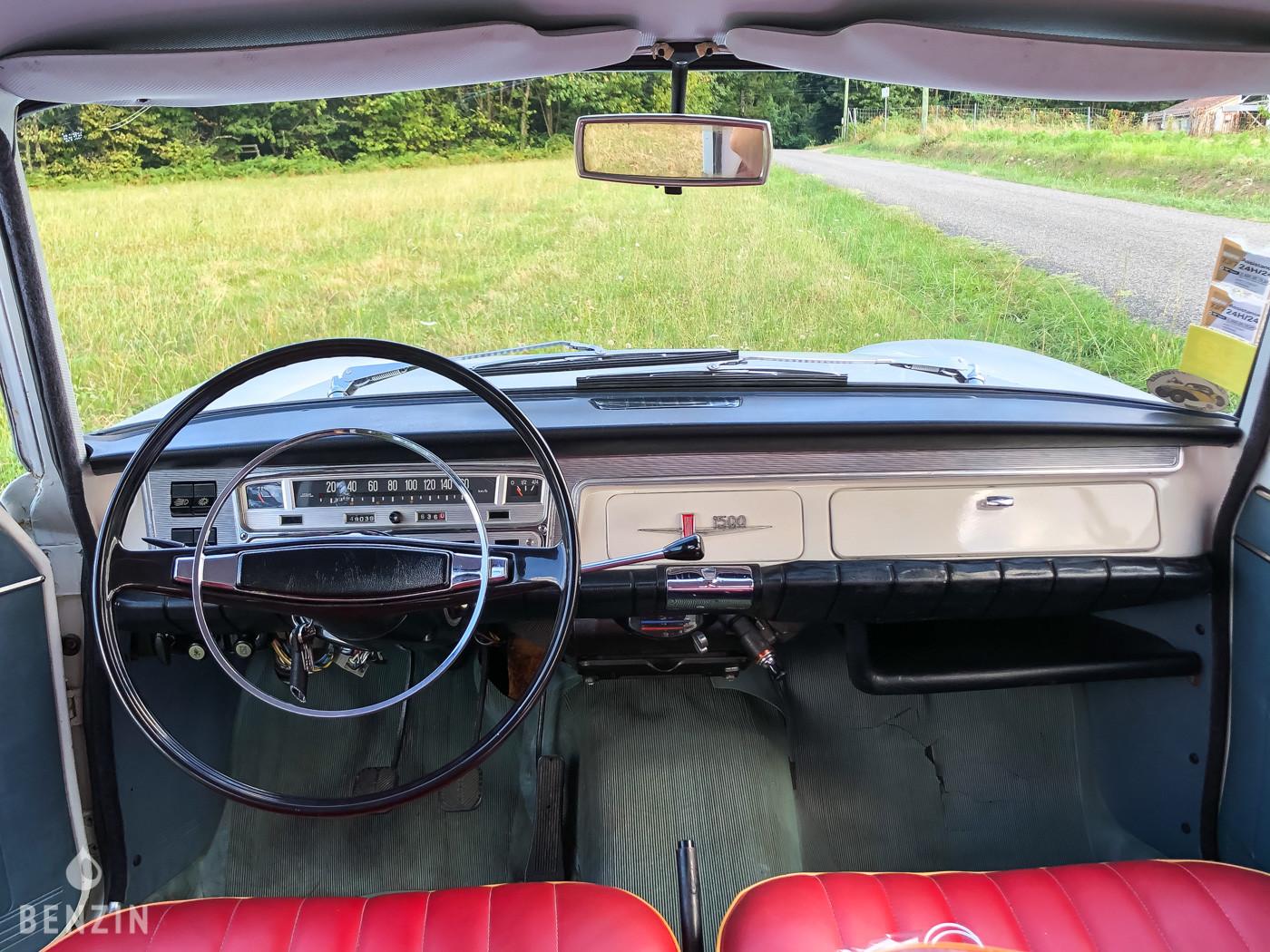 FIAT 1500 OCCASION A VENDRE - 1966