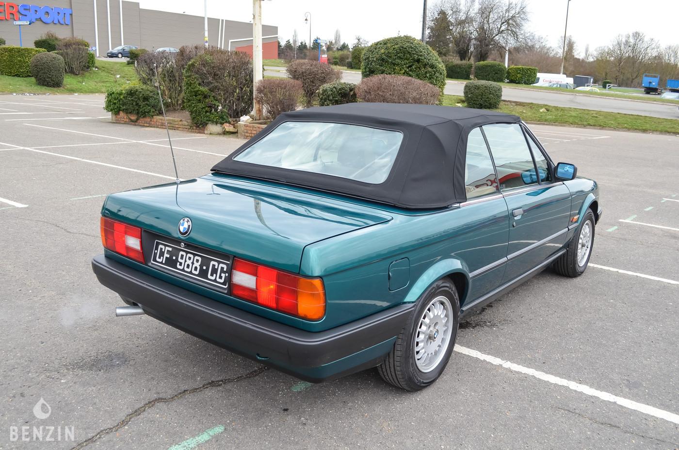 BMW 318i e30 cabriolet occasion à vendre se vende for sale zu verkofen