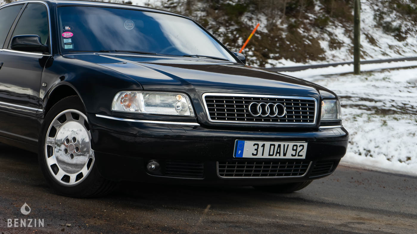 Audi A8 D2 W12 Johnny Hallyday à vendre for sale benzin.fr