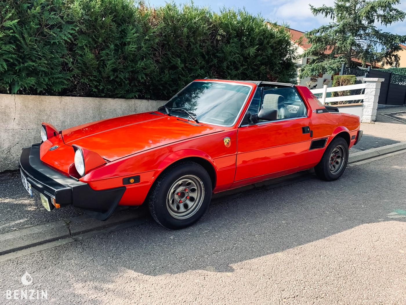FIAT BERTONE X1/9 OCCASION A VENDRE FOR SALE ZU VERKAUFEN IN VENDITA EN VENTA - 1985