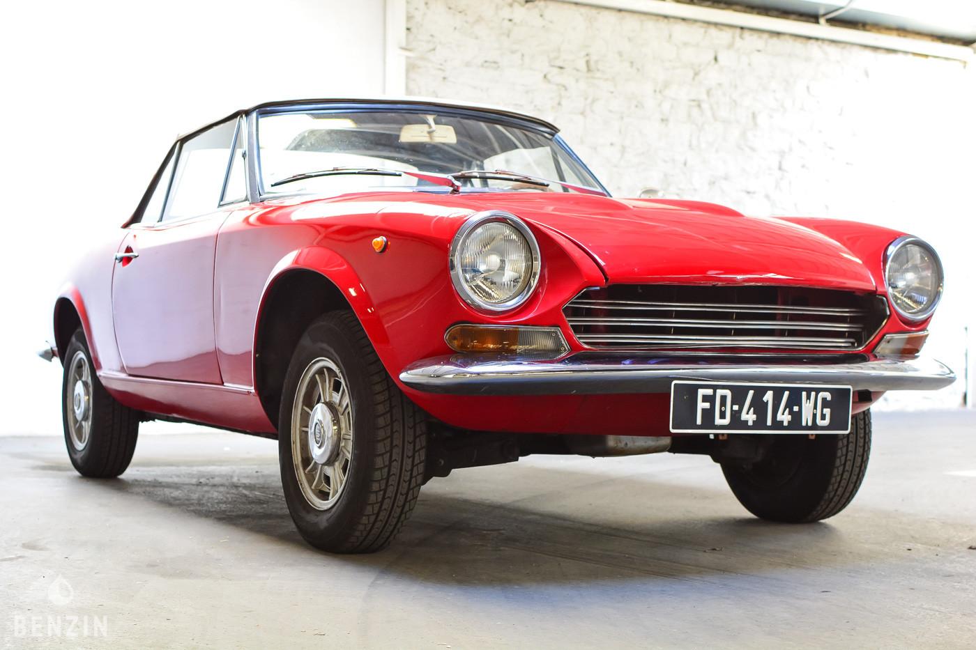 FIAT 124 SPORT 1968 FOR SALE EN VENTE EN VENDITA TE KOOP SU VERKAUFEN